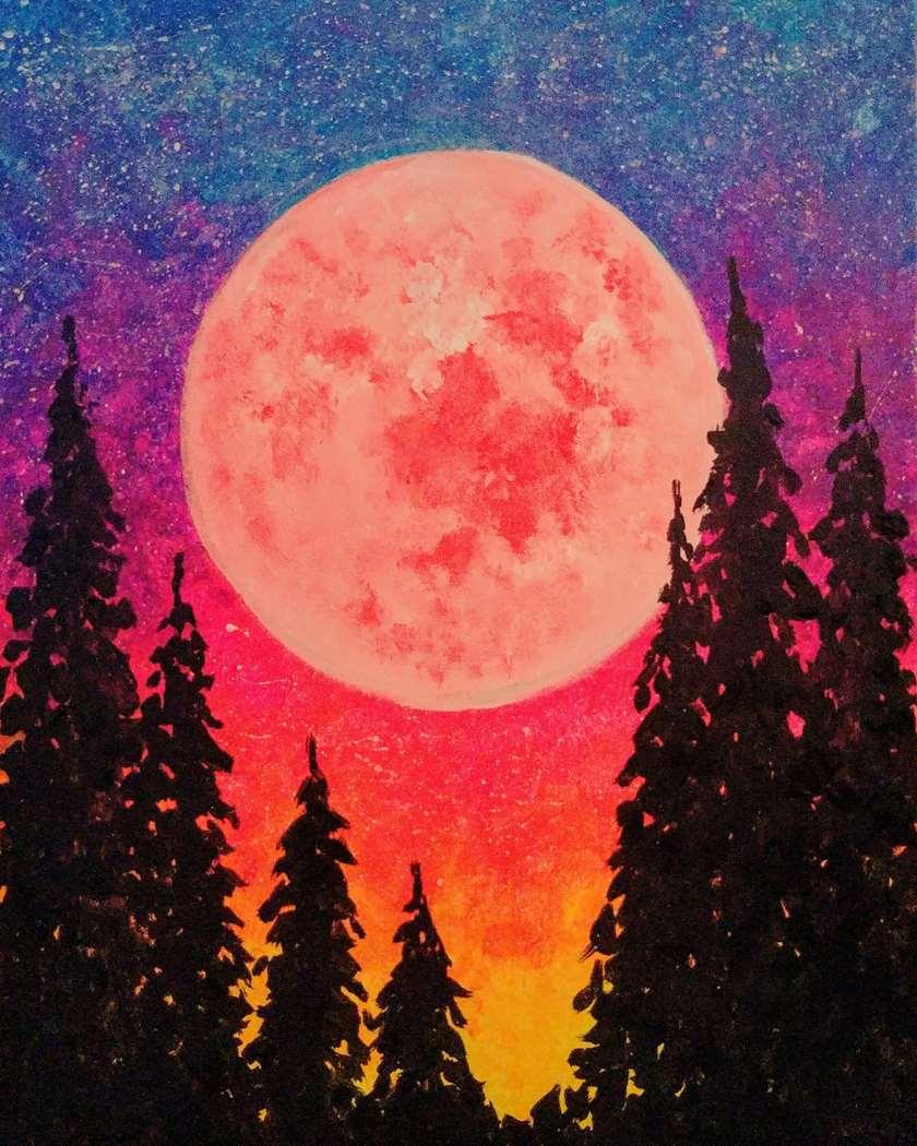 Galactic Moonglow