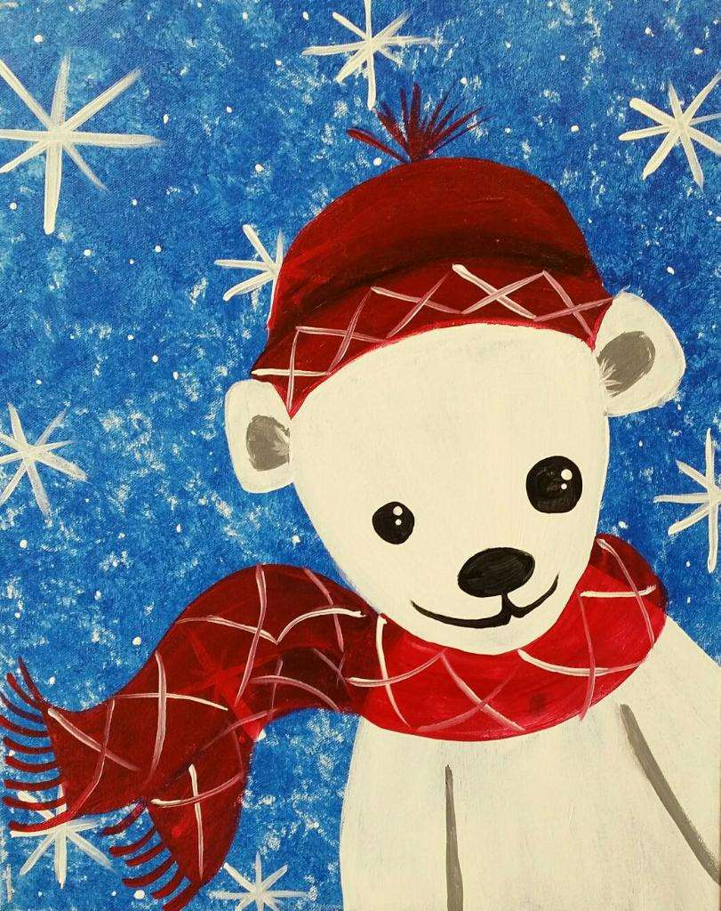 A Beary Snowy Day