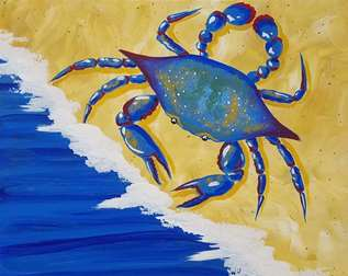 A Crab at the Beach