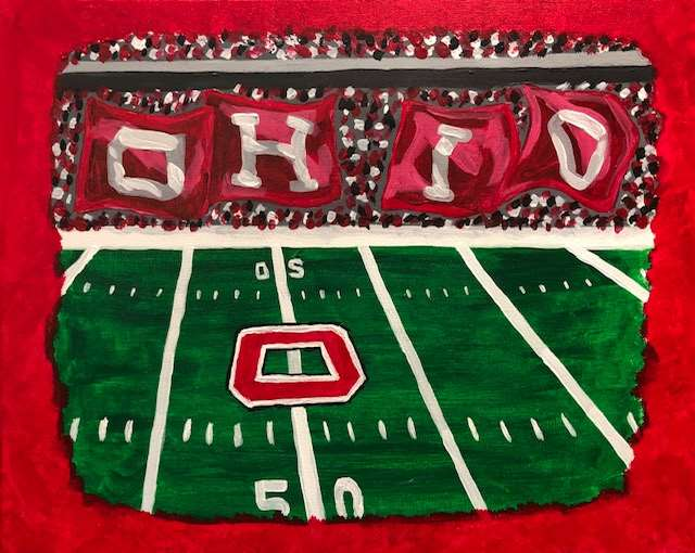 Officially Licensed OSU Painting Event