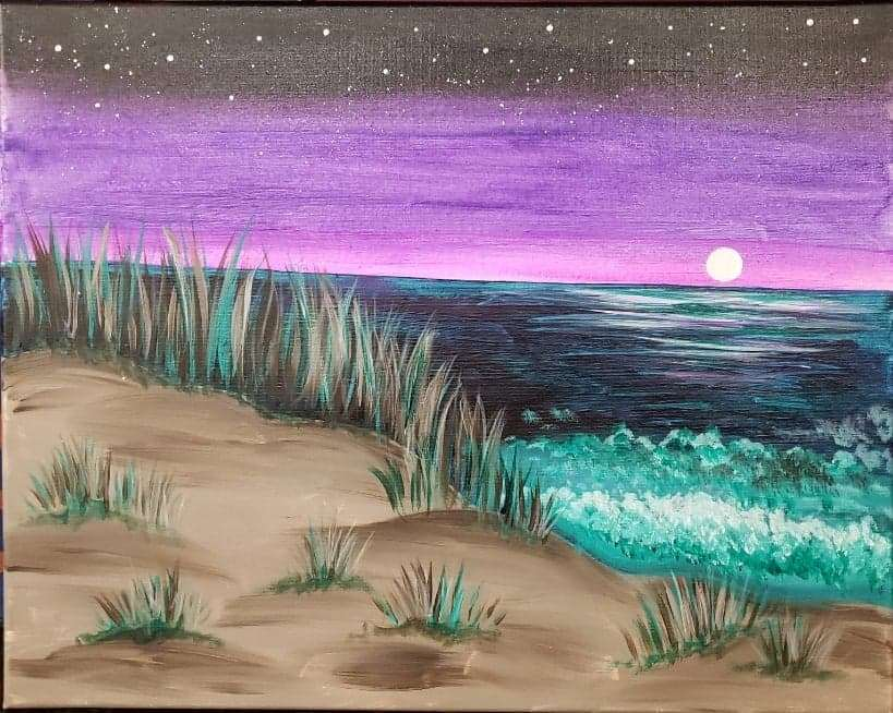 A Night Near the Dunes