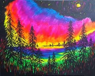 A Northern Night Glow