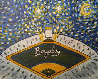 A Royal Starry Night