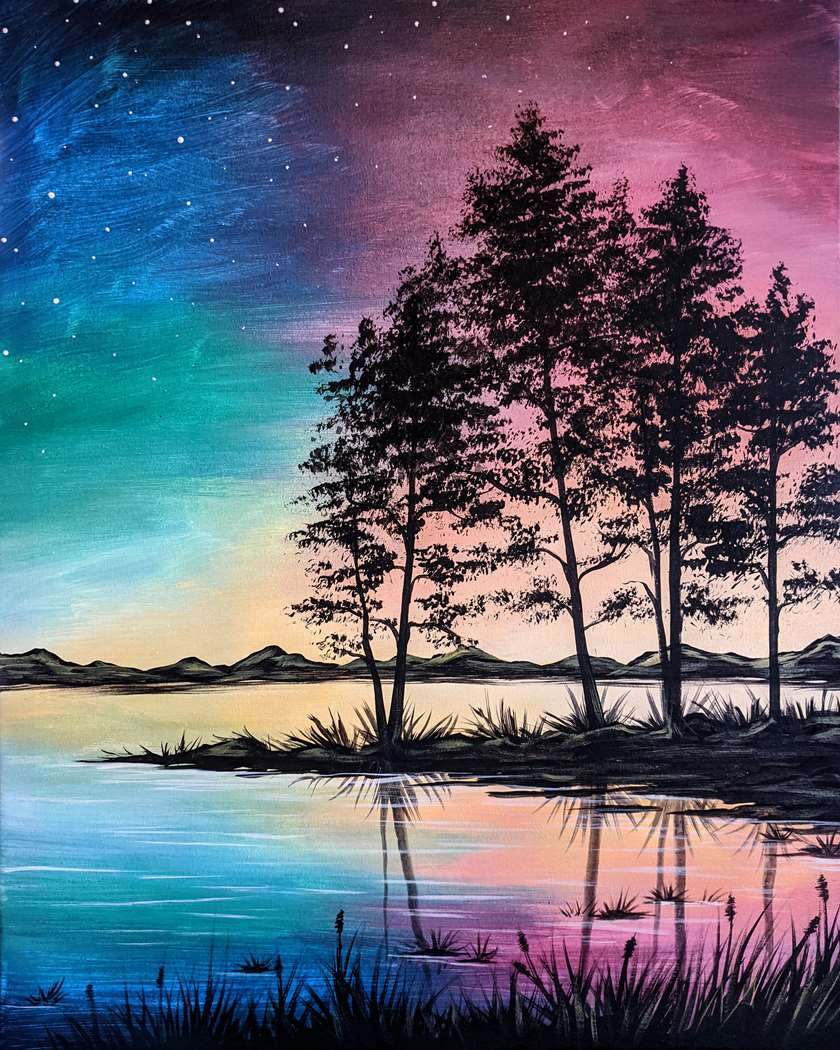 A Serene Sunset - In Studio Event - Limited Seating Available