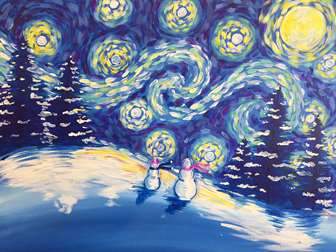 A Snowy Night