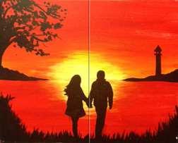 A Sunset Stroll