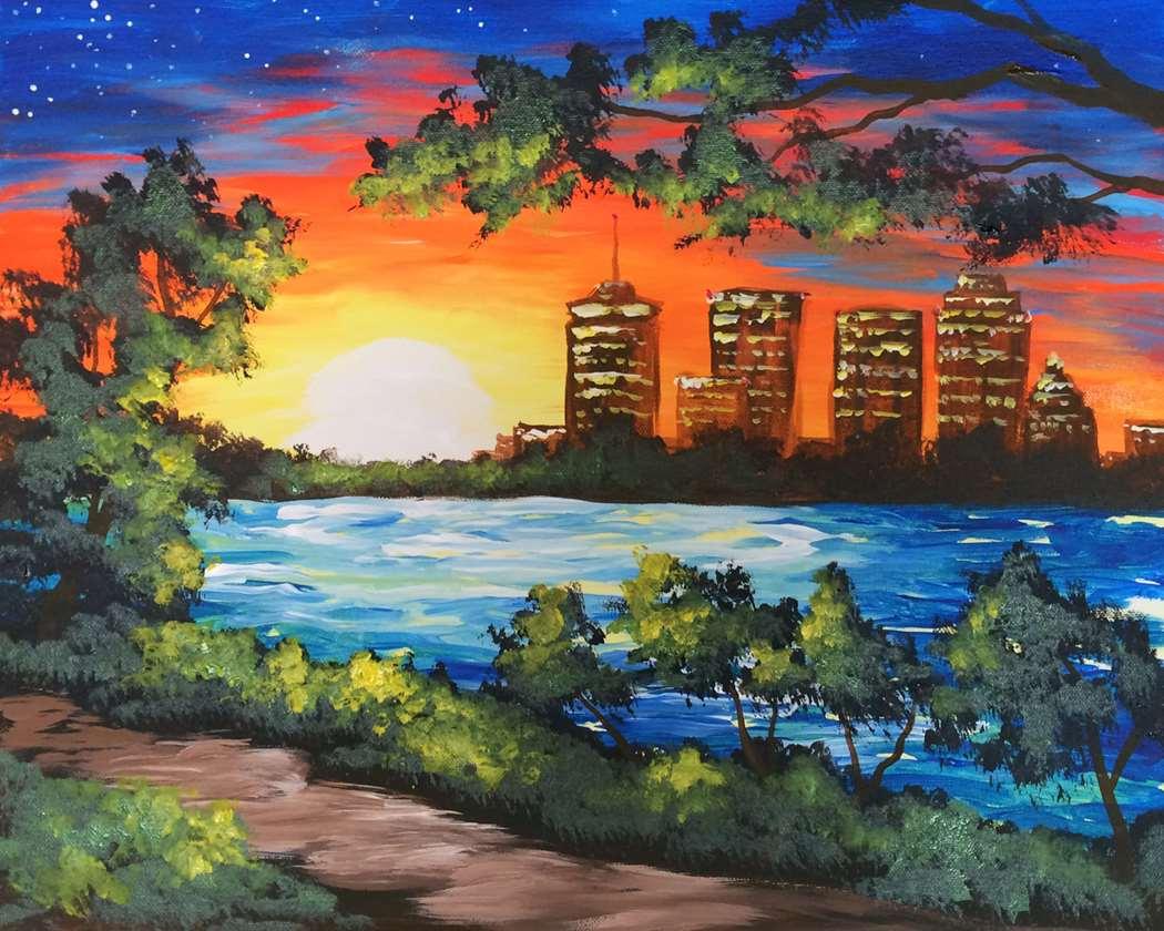 A Tulsa Sunset