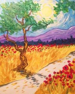 A Walk with Van Gogh