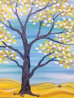 A Yellow Tree