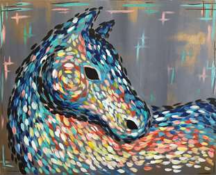 Abstract Horse