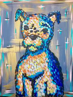Abstract Pooch