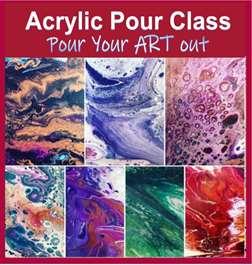 Acrylic Pour Class