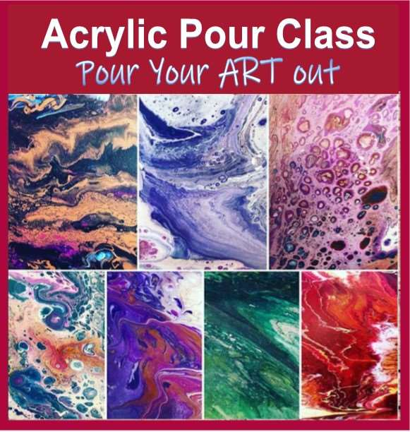 Pour Your Art Out! ~ All ages welcome.
