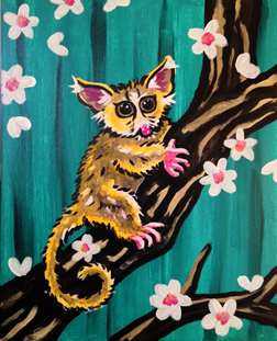 Adorable Mouse Lemur