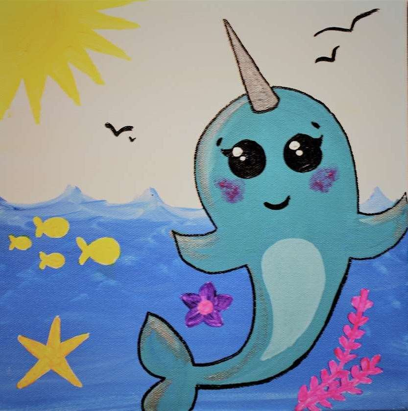 Adorable Narwhal