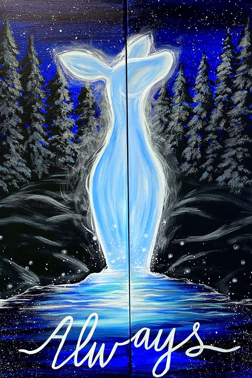 HP Trivia - Paint on a Single Canvas or Make it a Date Night!