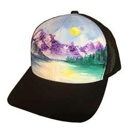 Alpine Lake Trucker Hat