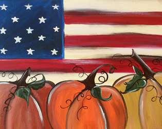 Americana Pumpkin Patch