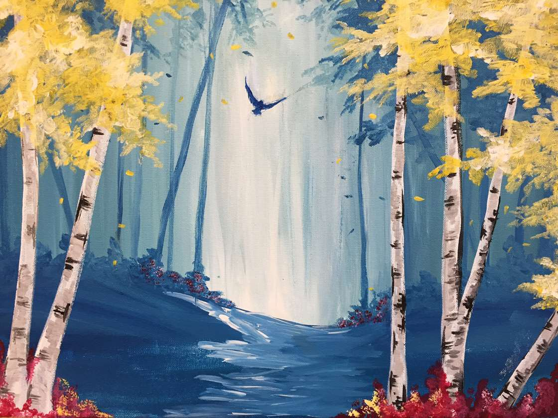 Among the Birches
