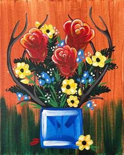 Antler Bouquet