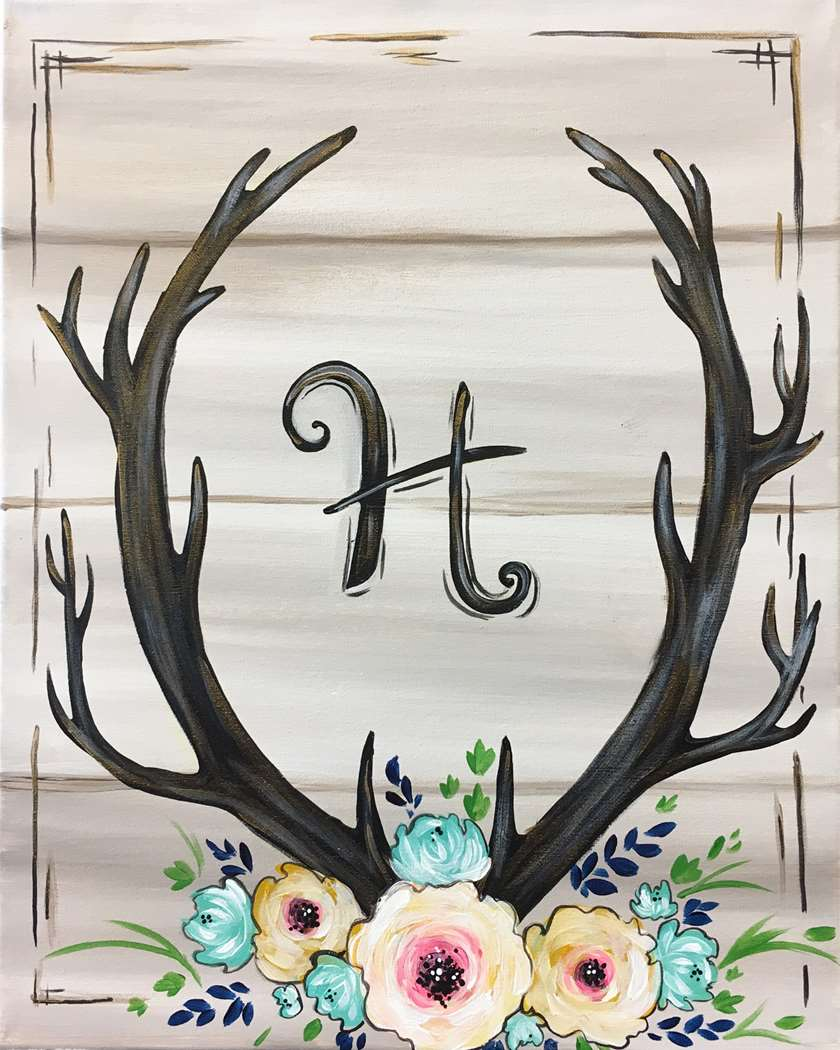 Live or Replay- Antler Monogram