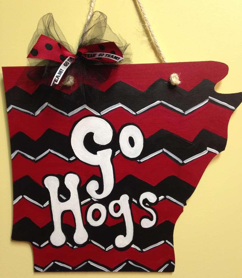 Arkansas State Door Hanger