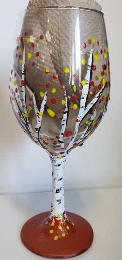 Aspens wine glass
