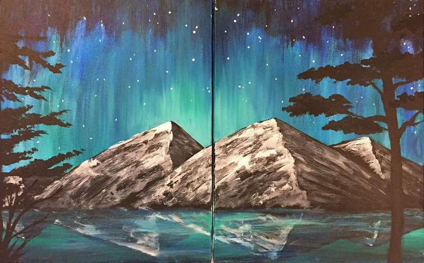 Aurora Mountain Magic