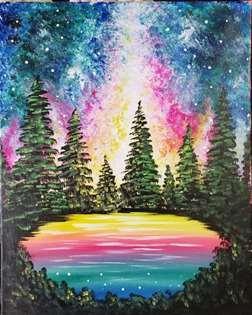 Aurora Night Reflections