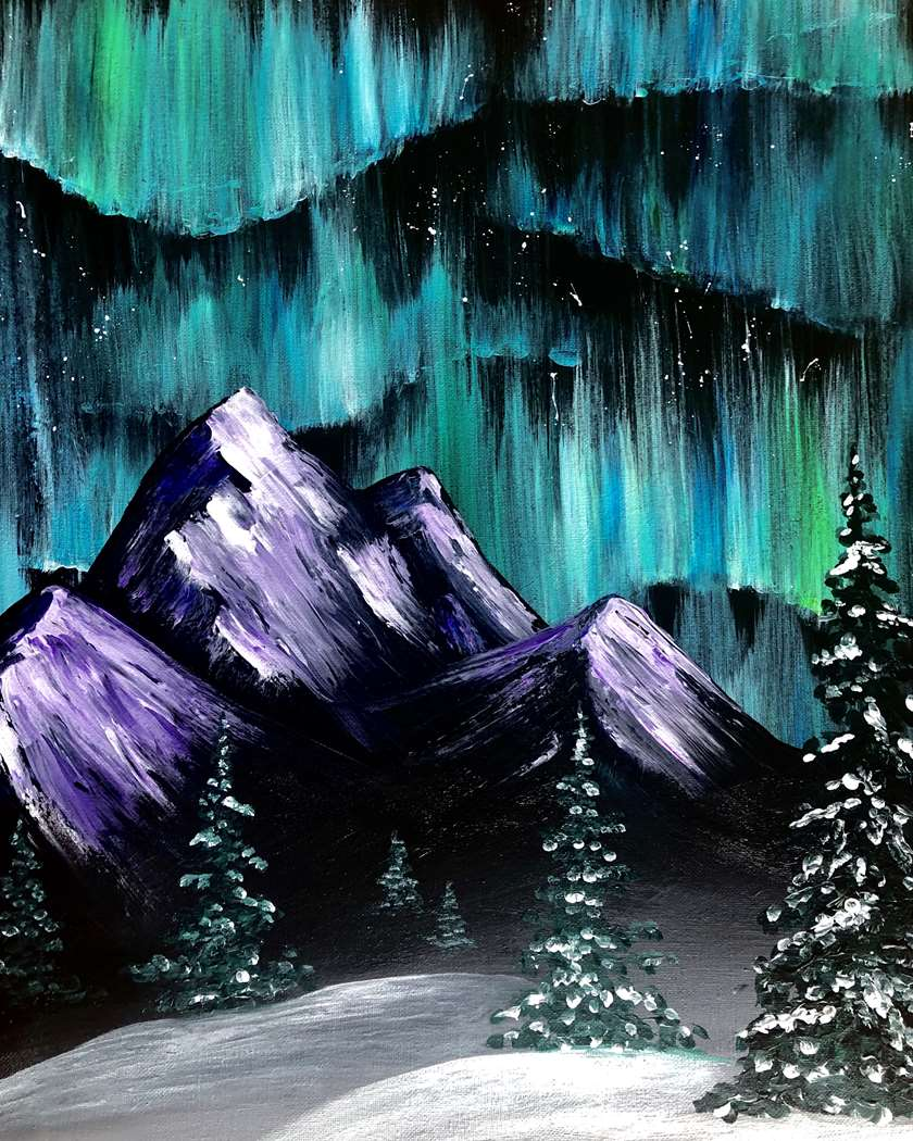 In Studio Class: Limited Seating! Pure Painting Fun!