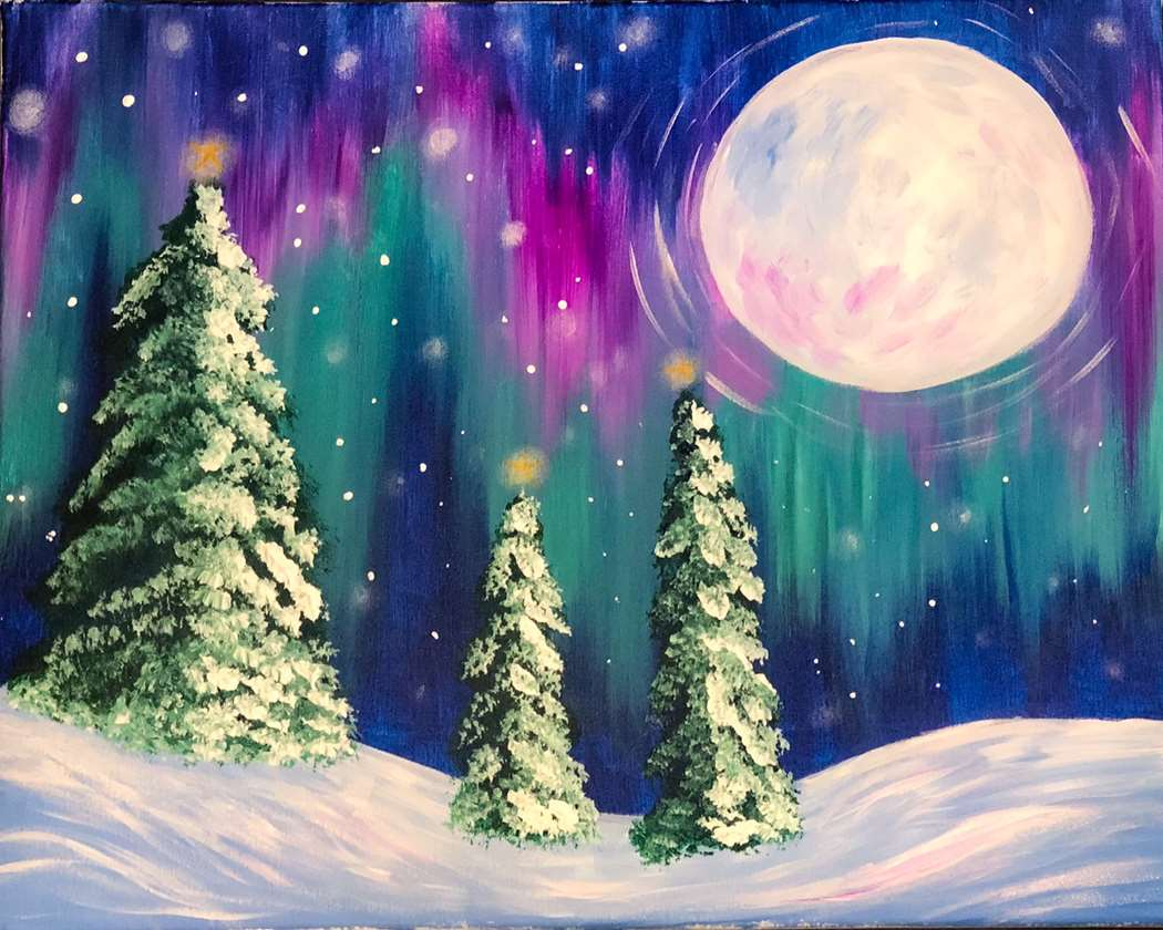 Aurora Over the Pines - In Studio Event - Limited Seating Available