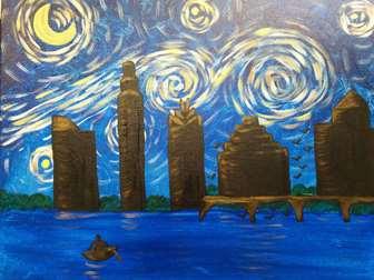 Austin Starry Night