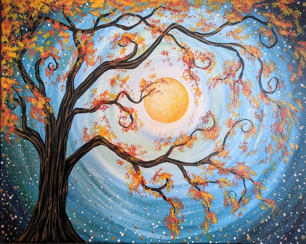 """""""Autumn Moonlight Delight"""""""