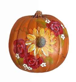 Autumn Rose Pumpkin