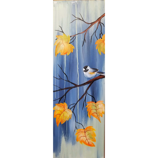 """""""autumn Song"""" large 10 x 30 canvas!  See details to order a smaller version"""