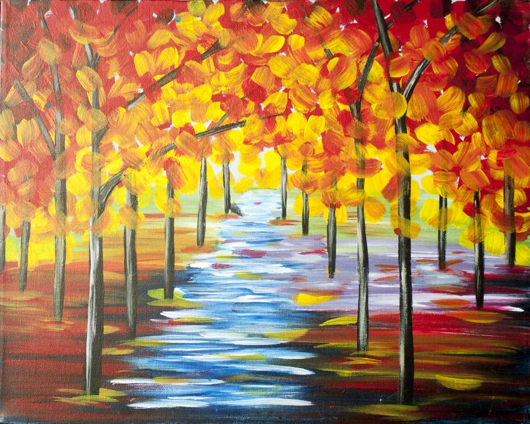 Autumn Stream - In Studio - Limited Seating