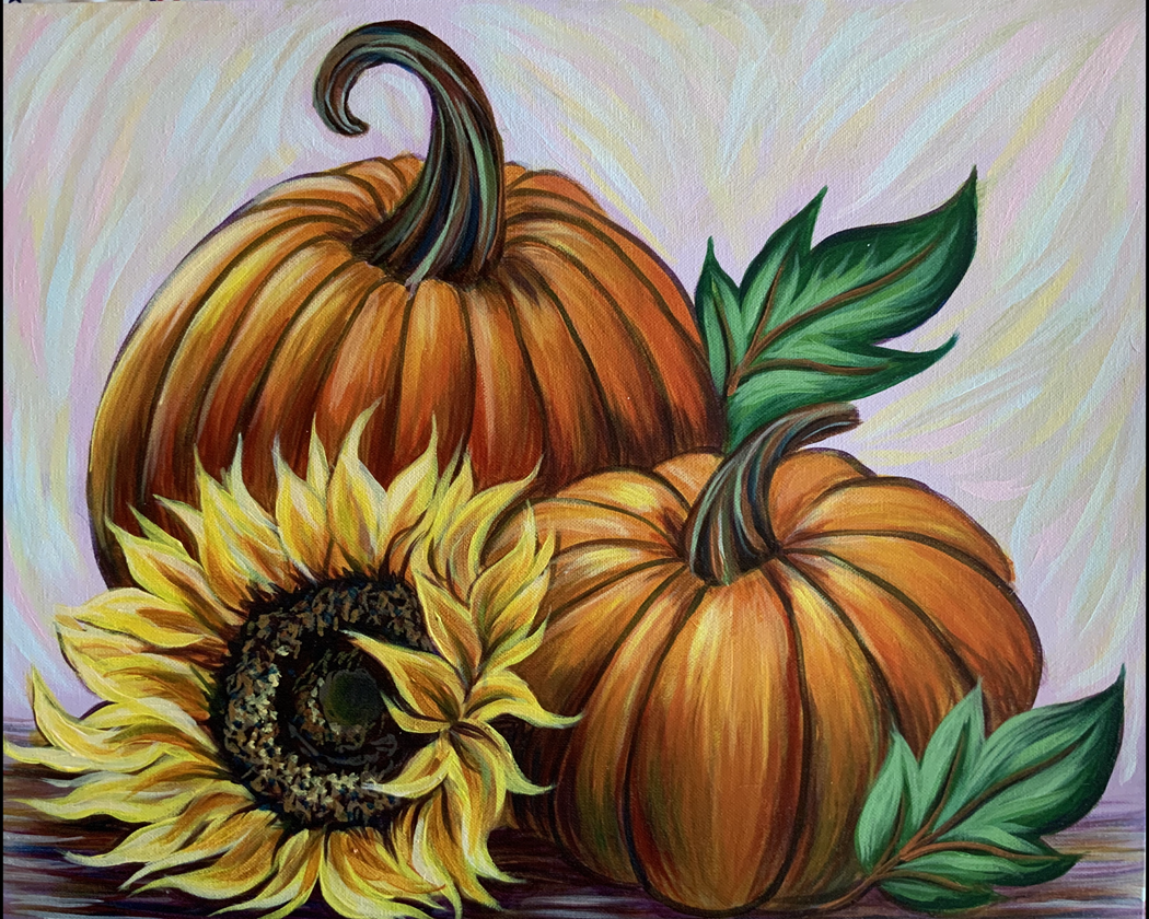 IN STUDIO CLASS: AUTUMN'S GOLDEN GIFTS - LIMITED SEATING