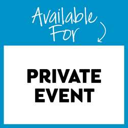 Available for Private Event