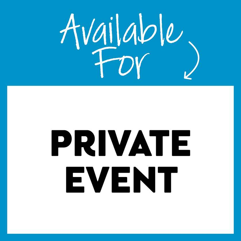 Available for Private Event -- Please contact studio for more information!