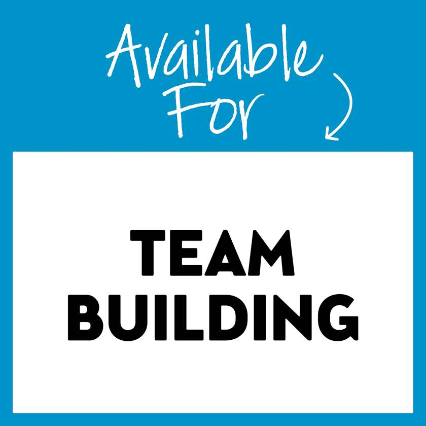 Available for Team Building!