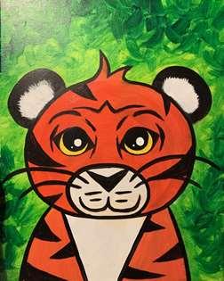 Playful Tiger