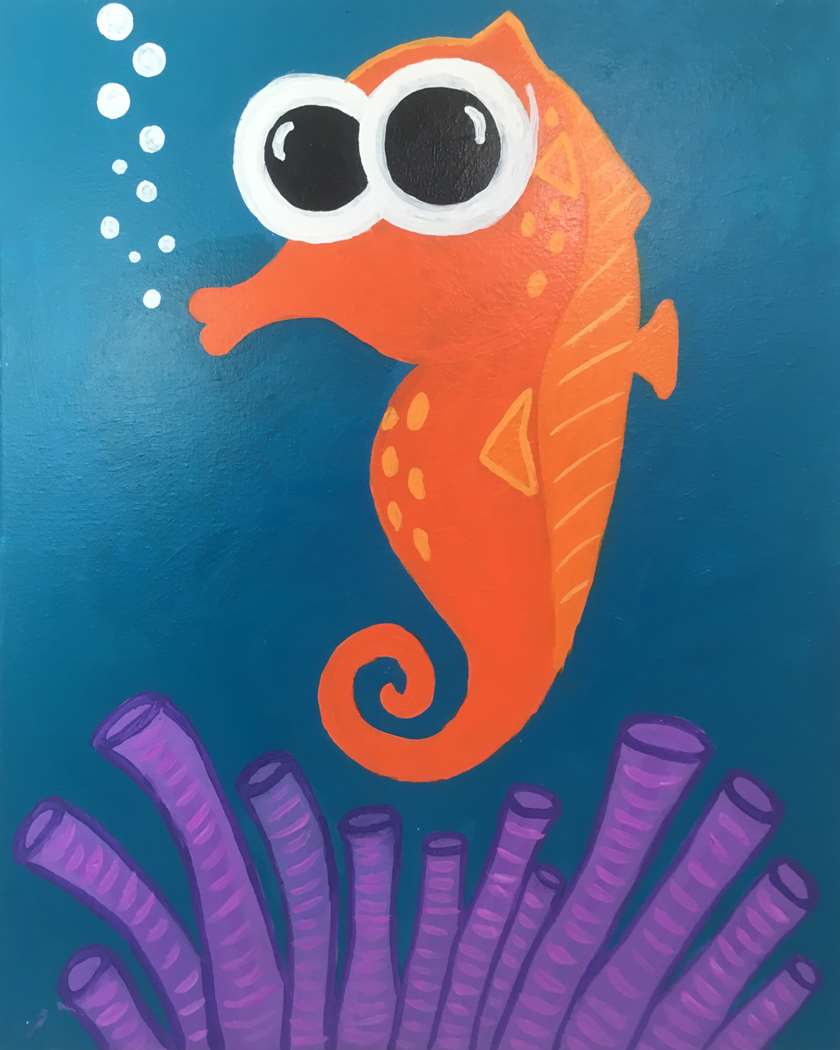 Baby SeaHorse - All Ages - In Studio Event - Limited Seating Available