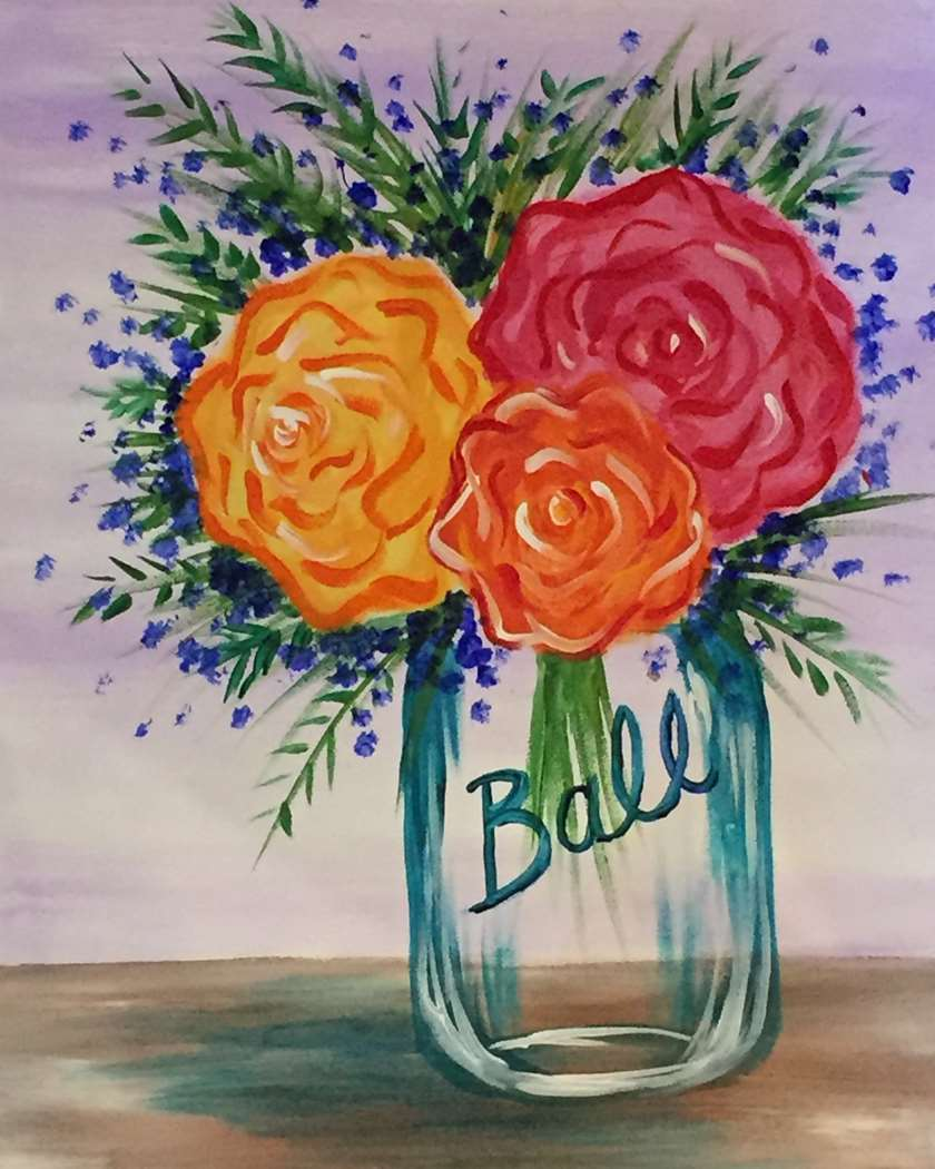 IN STUDIO CLASS: BACKYARD BOUQUET - LIMITED SEATING