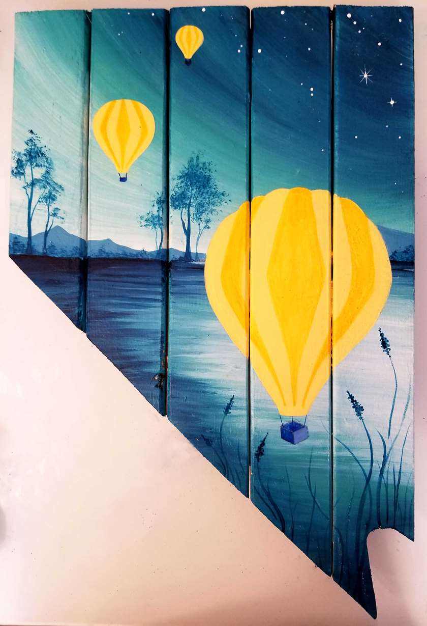 Balloons Over Nevada