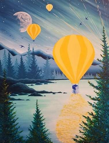 Balloons over Tahoe