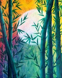 Bamboo Moon