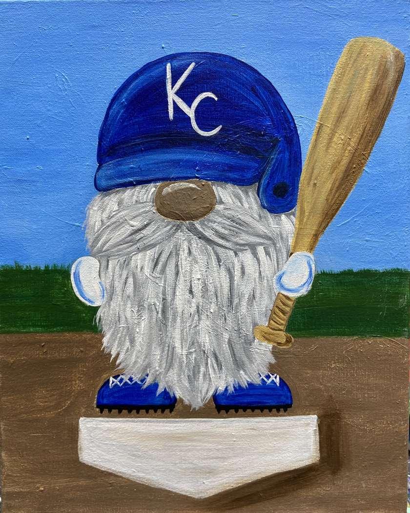 Batter Up Gnome