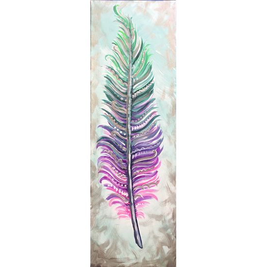 Decorative 10x30 canvas *Limited Seating*