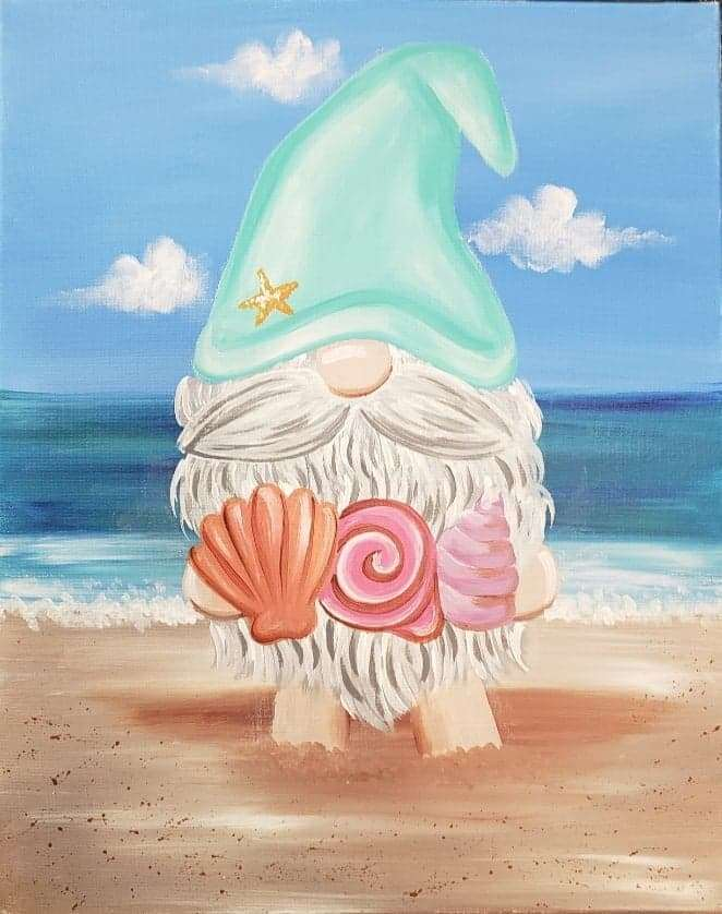 Ladies Night-Beach Gnome