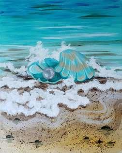 Beach Treasure: Pearl